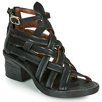 Čevlji  Ženske Sandali & Odprti čevlji Airstep / A.S.98 KENYA BRIDE Črna