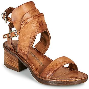 Čevlji  Ženske Sandali & Odprti čevlji Airstep / A.S.98 KENYA BUCKLE Kamel