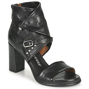 Čevlji  Ženske Sandali & Odprti čevlji Airstep / A.S.98 BASILE HIGH Črna