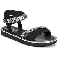 Čevlji  Ženske Sandali & Odprti čevlji Regard ANGERS Črna
