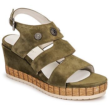 Čevlji  Ženske Sandali & Odprti čevlji Regard DOLLIS Kaki
