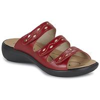 Čevlji  Ženske Natikači Romika Westland IBIZA 66 Rdeča