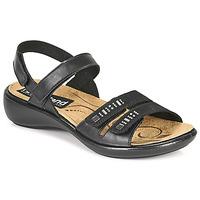 Čevlji  Ženske Sandali & Odprti čevlji Romika Westland IBIZA 86 Črna