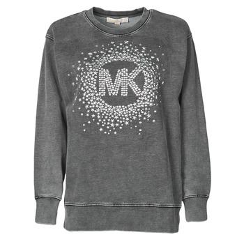 Oblačila Ženske Puloverji MICHAEL Michael Kors ACID WSH MK STAR STUD Črna
