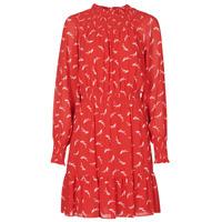 Oblačila Ženske Kratke obleke MICHAEL Michael Kors SIGNATRE LOGO SMCK DR Rdeča