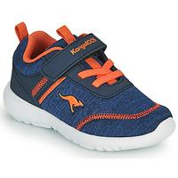 Čevlji  Dečki Nizke superge Kangaroos KY-CHUMMY EV Modra / Oranžna