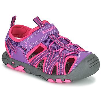 Čevlji  Deklice Sandali & Odprti čevlji Kangaroos K-ROAM Rožnata / Siva