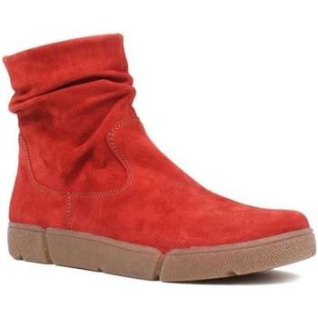 Čevlji  Ženske Polškornji Ara Om St High Soft Red