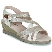 Čevlji  Ženske Sandali & Odprti čevlji Damart 61170 Srebrna