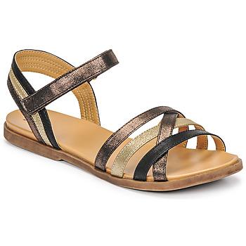 Čevlji  Deklice Sandali & Odprti čevlji Bullboxer ALM003F1S-ROSE Črna