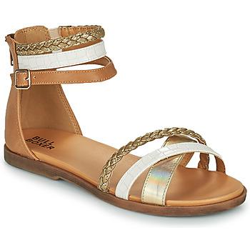 Čevlji  Deklice Sandali & Odprti čevlji Bullboxer ALM013F1S-GOLD Kostanjeva