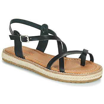 Čevlji  Ženske Sandali & Odprti čevlji Emmshu ALTHEA Črna