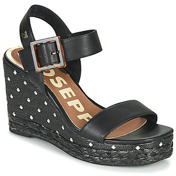 Čevlji  Ženske Sandali & Odprti čevlji Gioseppo KIRBY Črna