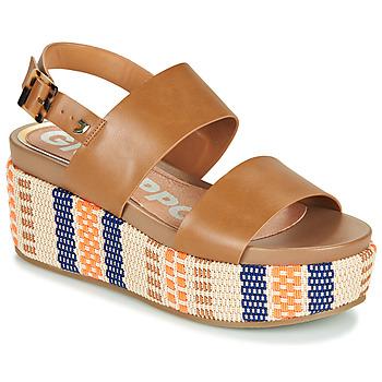 Čevlji  Ženske Sandali & Odprti čevlji Gioseppo COWLEY Cognac