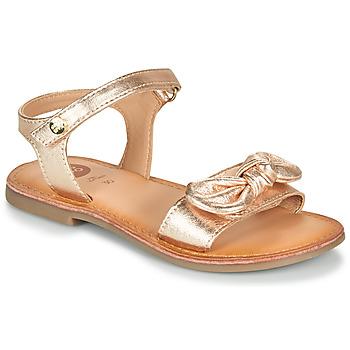 Čevlji  Deklice Sandali & Odprti čevlji Gioseppo CLEBER Rožnata / Zlata
