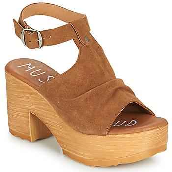 Čevlji  Ženske Sandali & Odprti čevlji Musse & Cloud FOXY Cognac