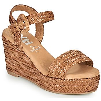 Čevlji  Ženske Sandali & Odprti čevlji Xti CRAMA Cognac