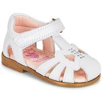 Čevlji  Deklice Sandali & Odprti čevlji Pablosky PAMMO Bela