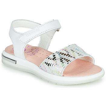 Čevlji  Deklice Sandali & Odprti čevlji Pablosky CAMMI Bela