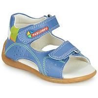 Čevlji  Dečki Sandali & Odprti čevlji Pablosky KINNI Modra