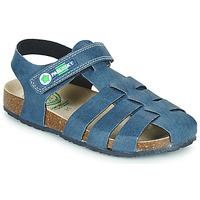 Čevlji  Dečki Sandali & Odprti čevlji Pablosky DAMMI Modra