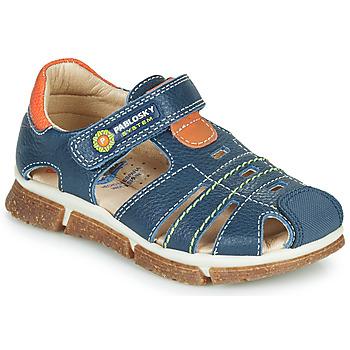 Čevlji  Dečki Sandali & Odprti čevlji Pablosky REAL Modra