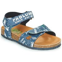 Čevlji  Dečki Sandali & Odprti čevlji Pablosky FOUNIR Modra