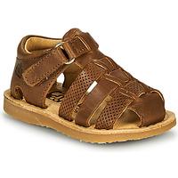 Čevlji  Dečki Sandali & Odprti čevlji Citrouille et Compagnie MISTIGRI Kamel