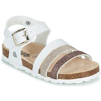 Čevlji  Deklice Sandali & Odprti čevlji Citrouille et Compagnie OMAYA Bela
