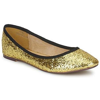 Čevlji  Ženske Balerinke Friis & Company PERLA Zlata