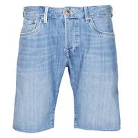 Oblačila Moški Kratke hlače & Bermuda Pepe jeans STANLEU SHORT BRIT Modra / Svetla