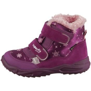 Čevlji  Otroci Visoke superge Superfit Glacier Roza, Vijolična
