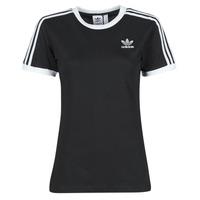 Oblačila Ženske Majice s kratkimi rokavi adidas Originals 3 STRIPES TEE Črna