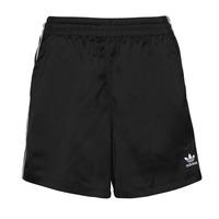 Oblačila Ženske Kratke hlače & Bermuda adidas Originals SATIN SHORTS Črna