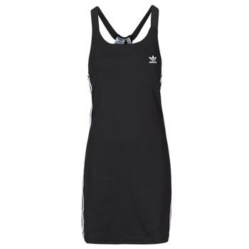 Oblačila Ženske Kratke obleke adidas Originals RACER B DRESS Črna