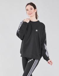 Oblačila Ženske Puloverji adidas Originals OS SWEATSHIRT Črna