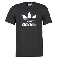 Oblačila Moški Majice s kratkimi rokavi adidas Originals TREFOIL T-SHIRT Črna