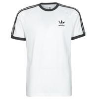 Oblačila Moški Majice s kratkimi rokavi adidas Originals 3-STRIPES TEE Bela