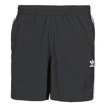 Oblačila Moški Kopalke / Kopalne hlače adidas Originals 3-STRIPE SWIMS Črna