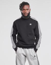 Oblačila Moški Puloverji adidas Originals 3-STRIPES CREW Črna