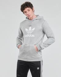 Oblačila Moški Puloverji adidas Originals TREFOIL HOODIE Siva
