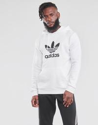 Oblačila Moški Puloverji adidas Originals TREFOIL HOODIE Bela