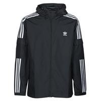 Oblačila Moški Vetrovke adidas Originals 3-STRIPES WB FZ Črna