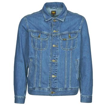 Oblačila Moški Jeans jakne Lee LEE RIDER JACKET Modra