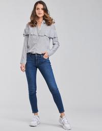 Oblačila Ženske Jeans skinny Lee SCARLETT Modra