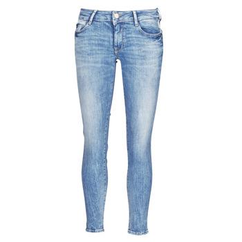 Oblačila Ženske Kavbojke slim Le Temps des Cerises PULP SLIM 7/8 Modra