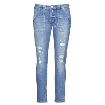 Oblačila Ženske Jeans boyfriend Le Temps des Cerises CARA Modra