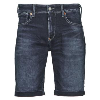 Oblačila Moški Kratke hlače & Bermuda Le Temps des Cerises JOGG BERMUDA Modra / Črna