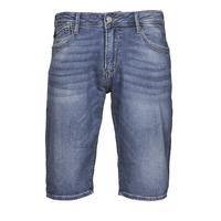 Oblačila Moški Kratke hlače & Bermuda Le Temps des Cerises JOGG BERMUDA Modra