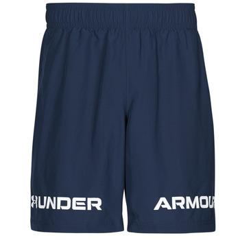 Oblačila Moški Kratke hlače & Bermuda Under Armour UA WOVEN GRAPHIC WM SHORT Modra